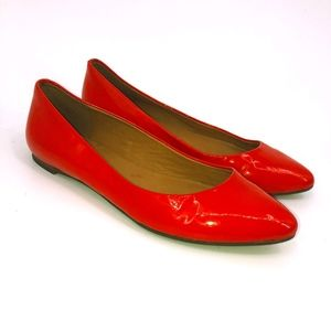 Madewell Patent Leather Flats Skimmers Shoes